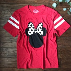 Disney Minnie Mouse Red Top